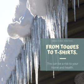 Toques to T-Shirts Can Cause Mould